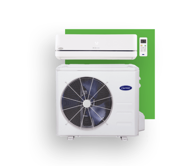 ductless-system-and-green-block