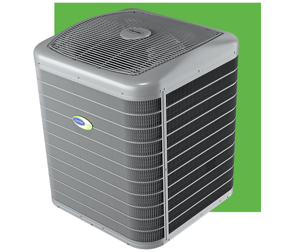 infinity-26-greenspeed-air-conditioner-24VNA6-and-green-block